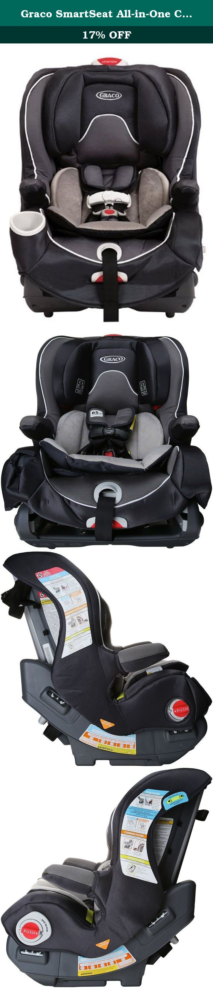 Graco SmartSeat All In One Car Seat Rosin Smart Grows With