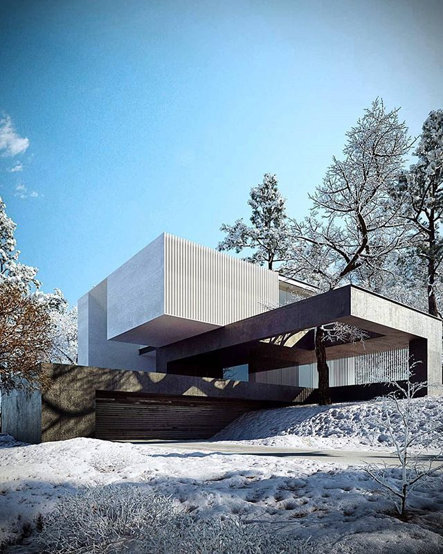 Chicago Modern Architecture Design: Modern Architecture House