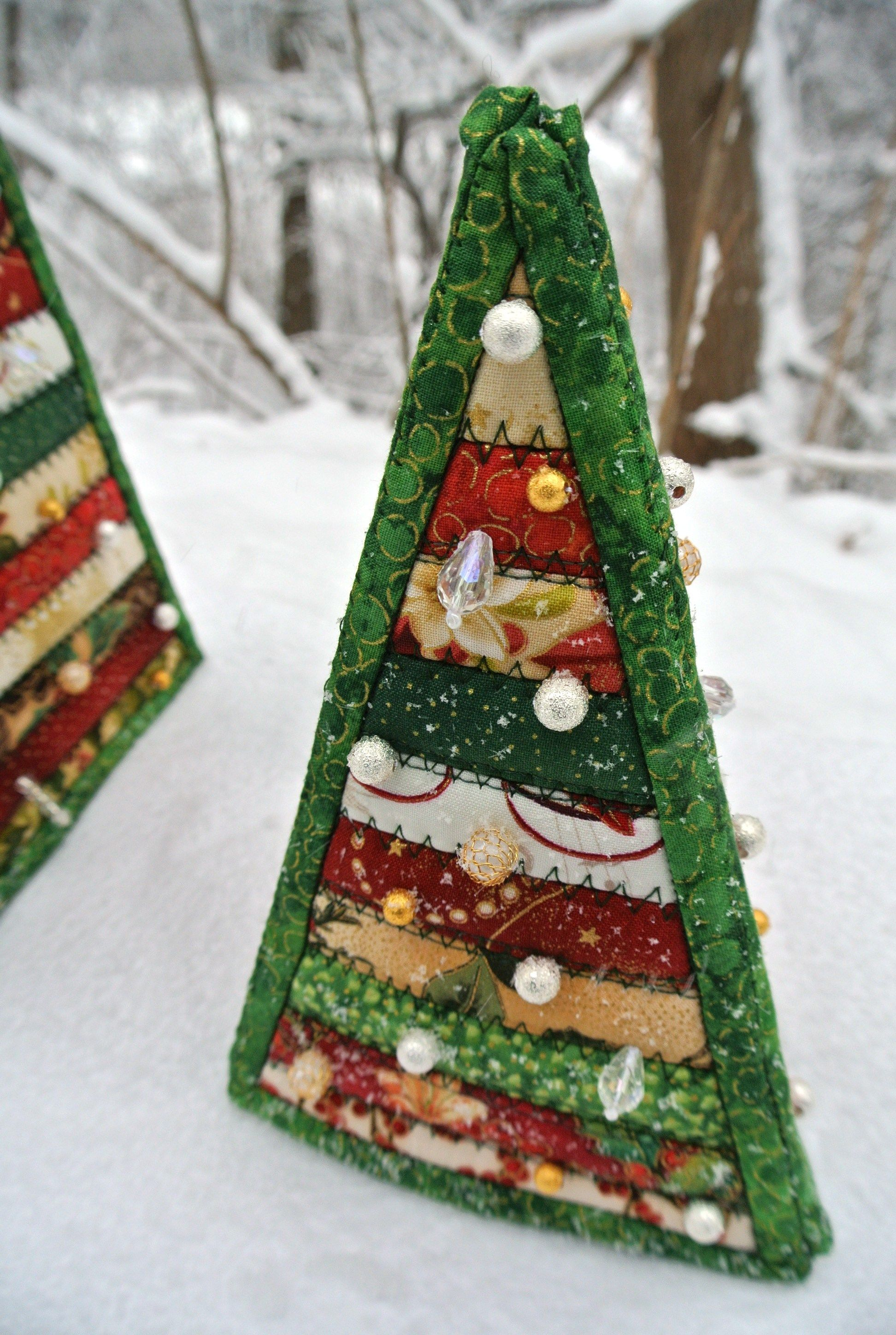Terrific Quilted Christmas Ornaments Tutorial Patterns