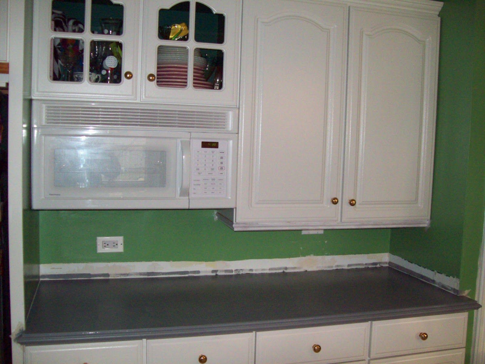 Painted formica countertop remodelaholic