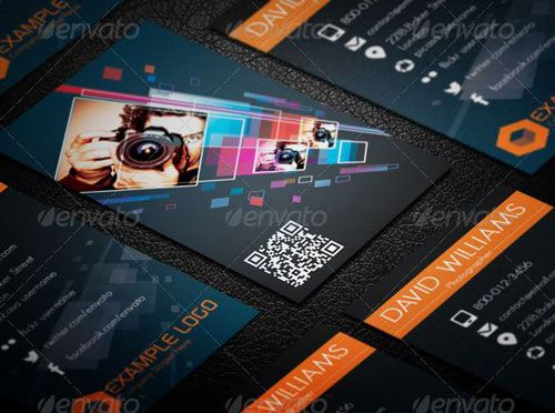 Photographer name Card #businesscards #psdtemplate #printready #businesscardtemplate
