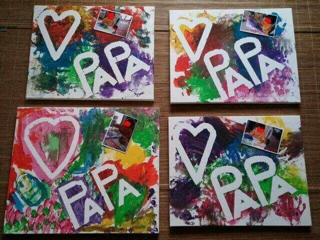 Bildergebnis Für Geschenk Für Papa Basteln Mit Kindern Baby Dia