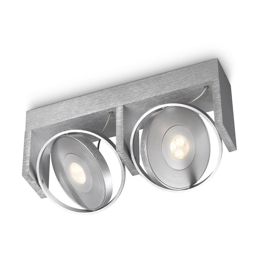 Philips Ledino 53152 Led Deckenleuchte Spot 2 Flammig 4111402 Led Ceiling Lights Led Philips Led