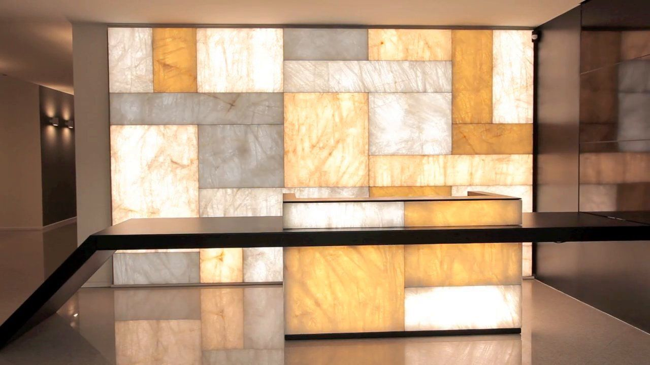 This material uses state of the art LED technology to enhance the ...