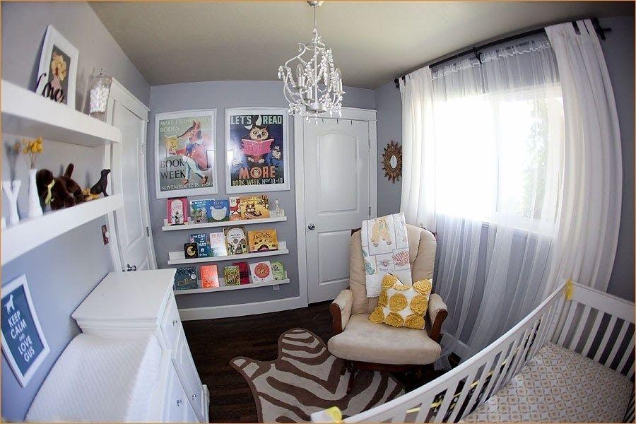 Clever organize floating bookshelves nursery nursery