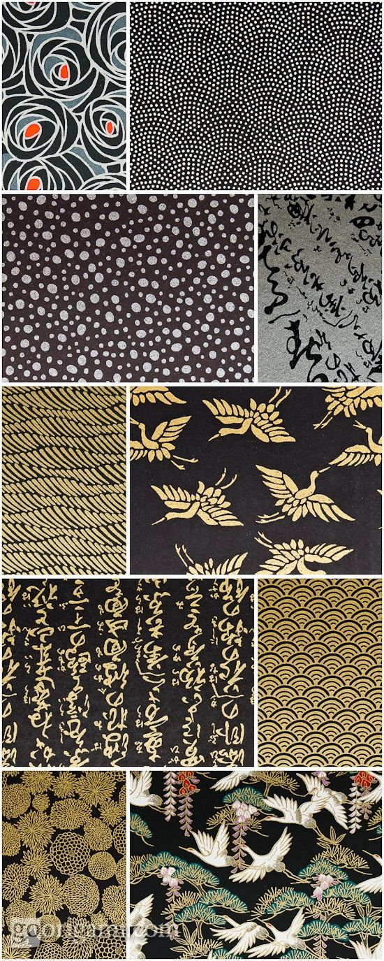 Beautiful chiyogami paper prints I have had the privilege of working with all of these pri