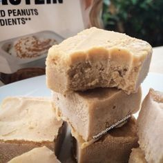 Ripped Recipes - Peanut Butter Banana Protien Fudge - Guiltless freezer fudge, you wont be able to stop eating.
