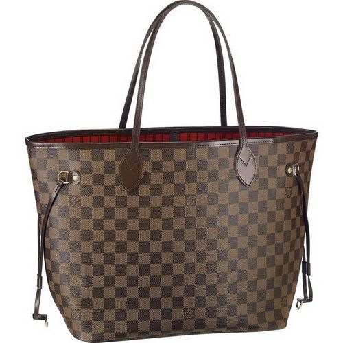 Louis Vuitton Damier Ebene Canvas Neverfull Mm N51105 Aix- 218 ... 383a0bb523c5