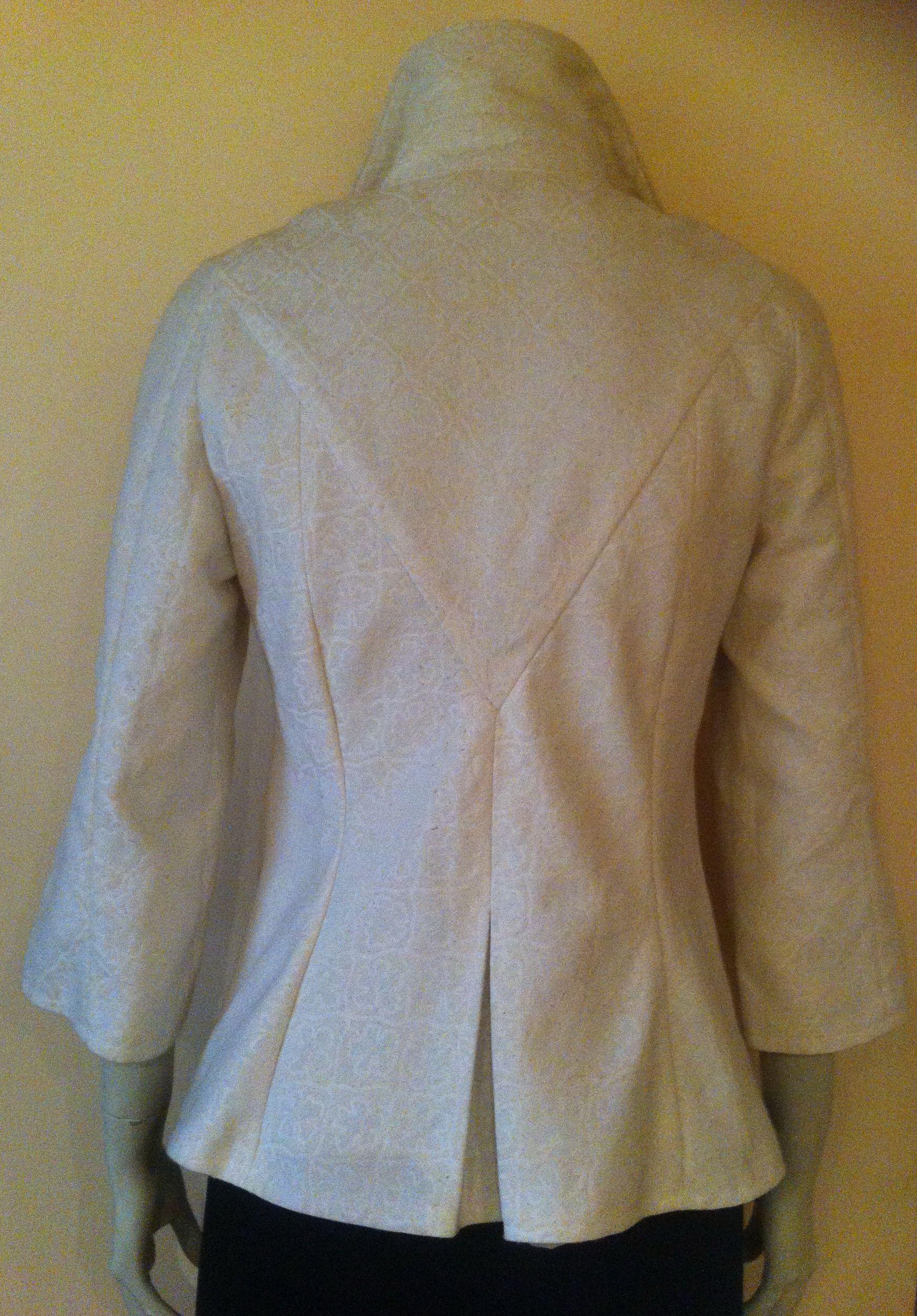 Chaqueta de tela de tapicer a parte trasera precio 100 chaquetas cazadoras y abrigos - Telas para tapiceria precios ...