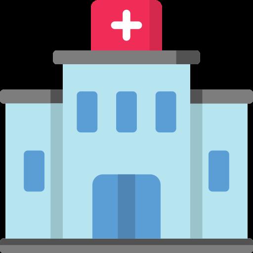 Hospital Free Vector Icons Designed By Freepik Hospital Icon Free Icons Vector Icon Design
