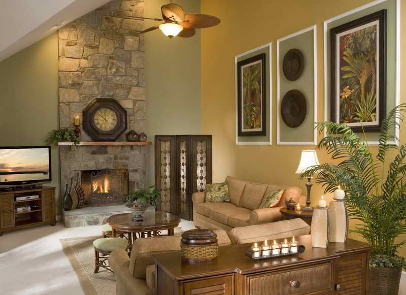 How To Decorating Large Wall Decorate A In Living Room With