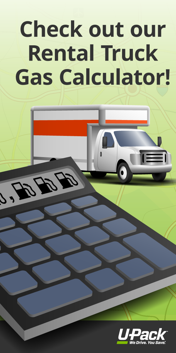 Compare your moving options: use this gas price calculator