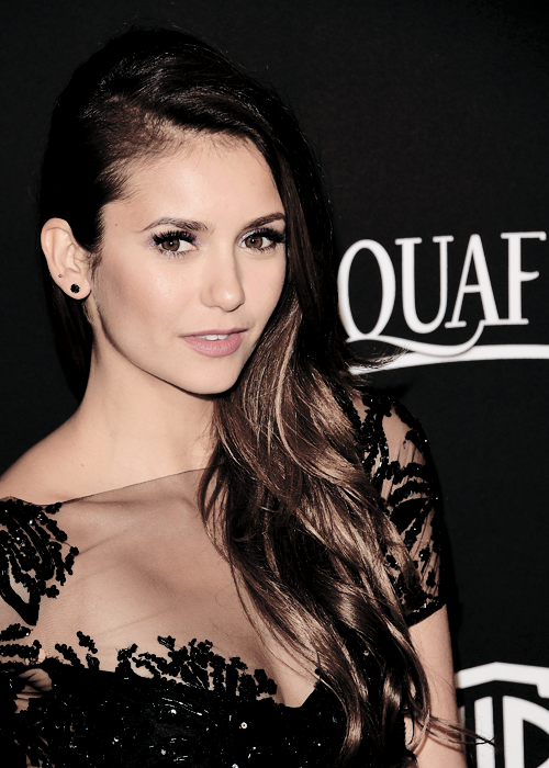 Nina Dobrev attends the 2015 InStyle And Warner Bros. 72nd Annual Golden Globe Awards Post-Party