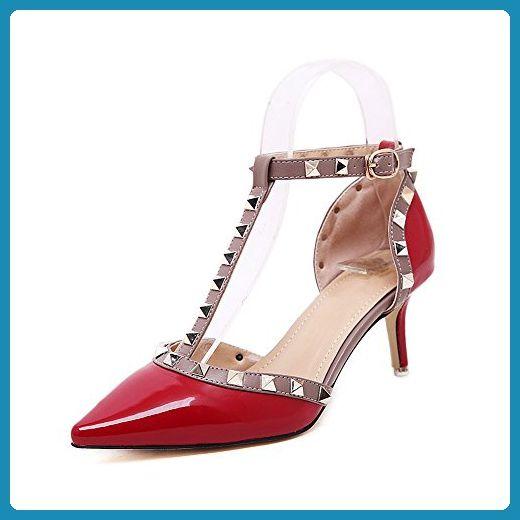 Aktuelle Damen Pumps Schuhe High Heels 6642 Weiß 36