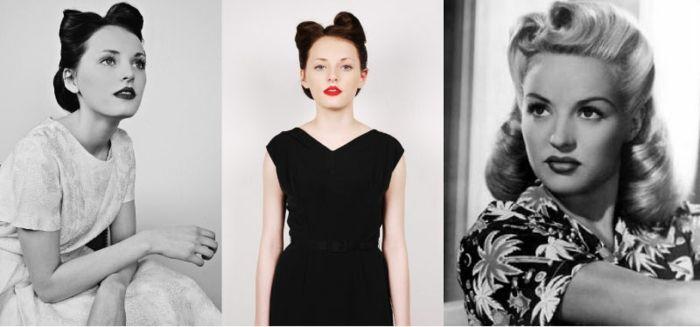 Frisuren der 1950