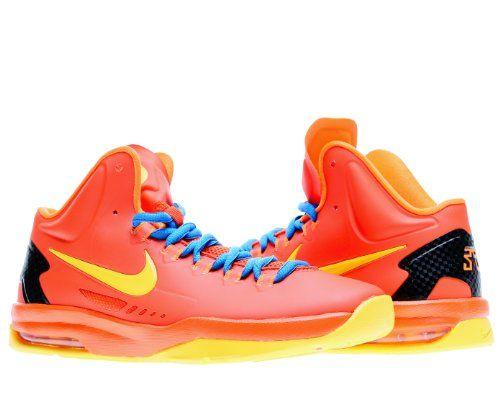 601829b920a Nike KD V (GS) Boys Basketball Shoes 555641-801 Team Orange 6 M US ...