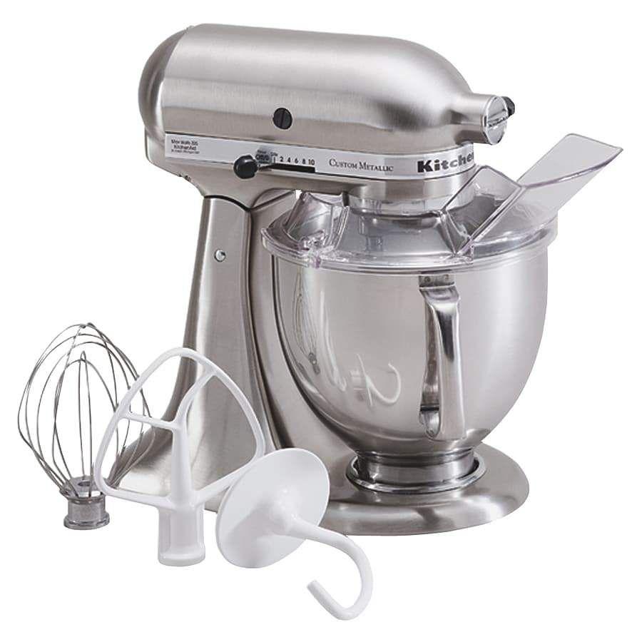 Kitchenaid ksm152ps custom metallic 5qt stand mixer