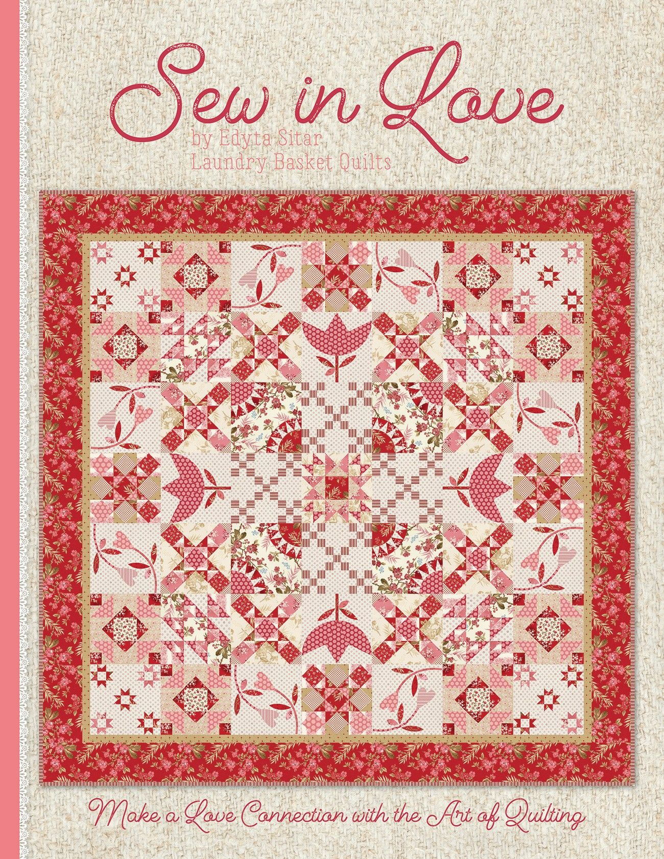Sew In Love Book By Sitar Edyta Book Quilt Laundry Basket