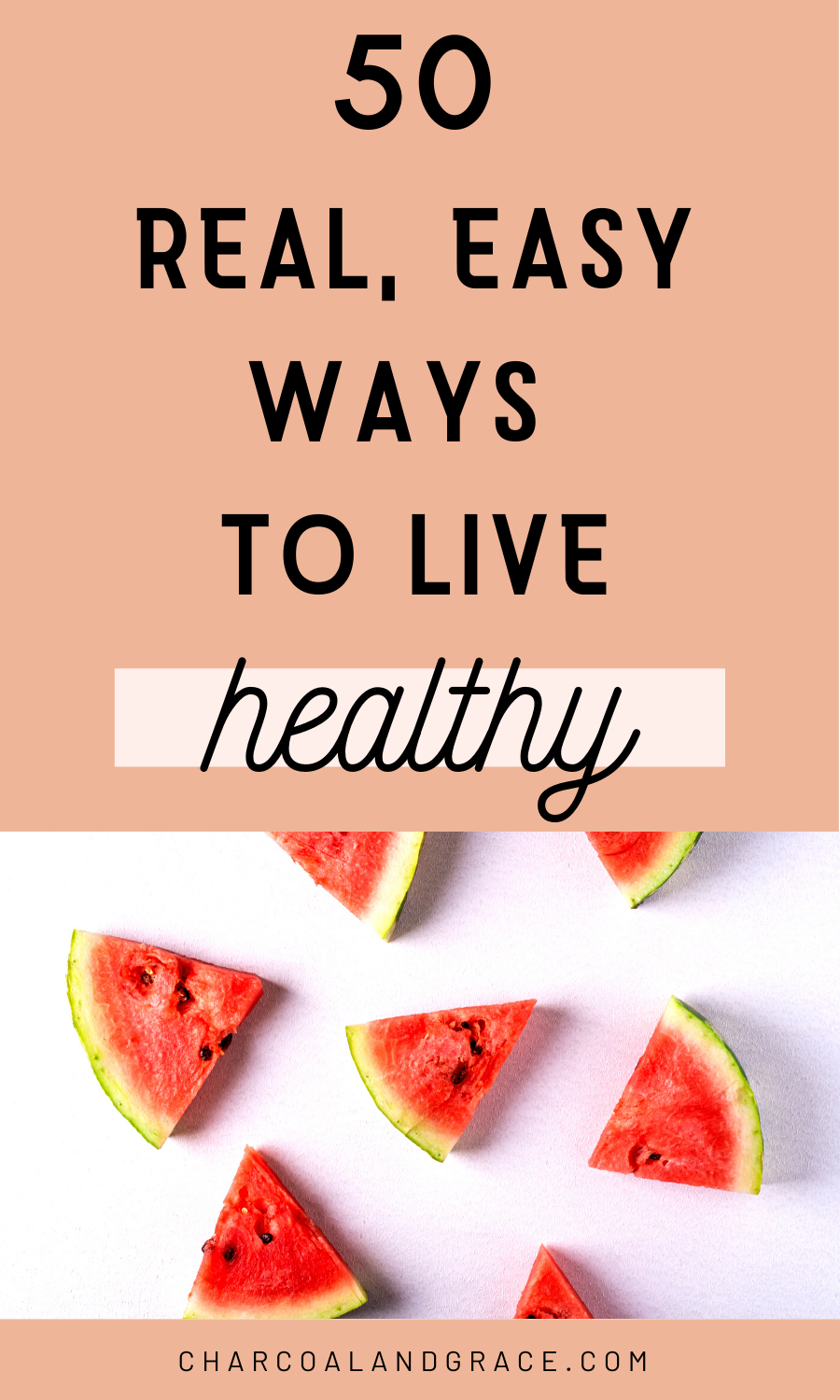 These are the same 50 tricks I used to change my lifestyle + lose 50 pounds! Learn how to actually live a healthy lifestyle. How to lead a healthy life. How to get a healthy lifestyle. Easy tips for starting a healthy lifestyle. #healthylifestyletips #healthylifestylemotivation #howtoliveahealthylifestyle #startingahealthylifestyle #howtohaveahealthylifestyle