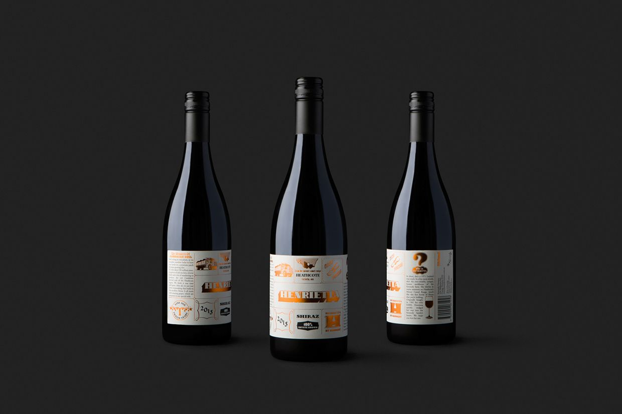 Kennedy Vintners approached Marilyn & Sons to name and design their new entry level Shiraz. Our brief