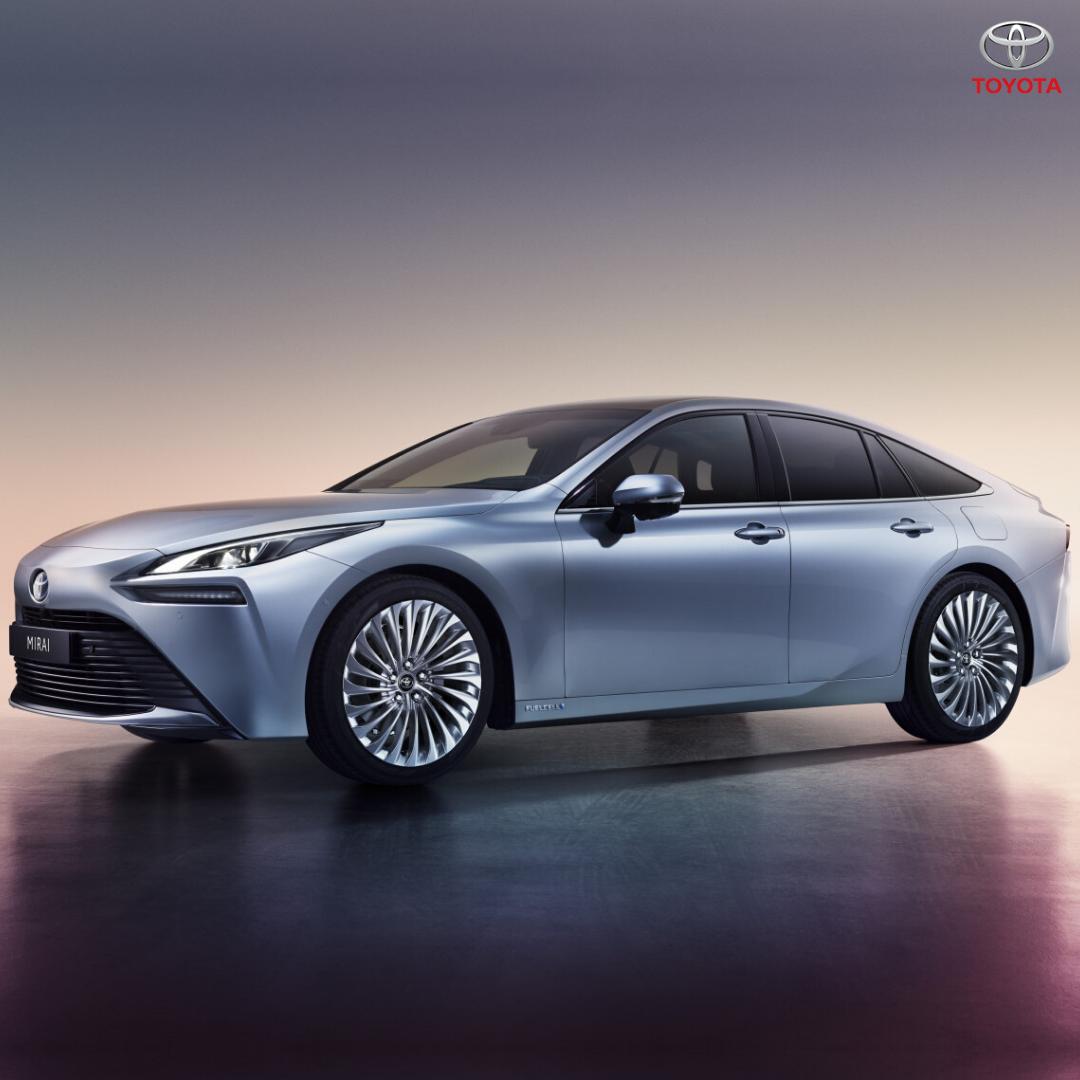 New Toyota Mirai nextgen hydrogen fuel cell car revealed