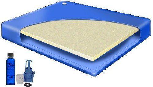 Super Single 48 X 84 Semi Waveless Waterbed Mattress By Better