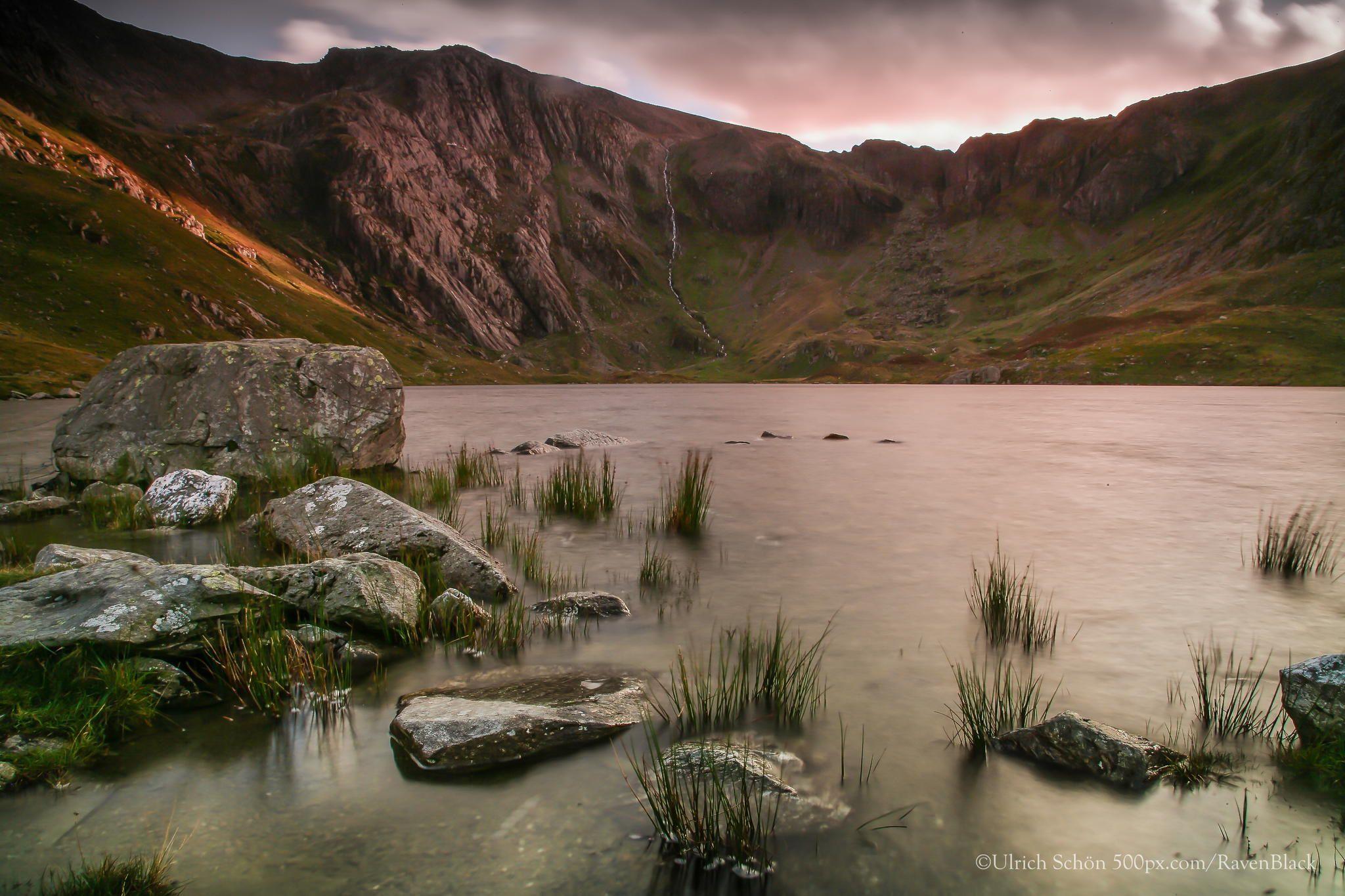 Shortly before dusk by Ulrich Schoen on 500px. Snowdonia, Wales, UK