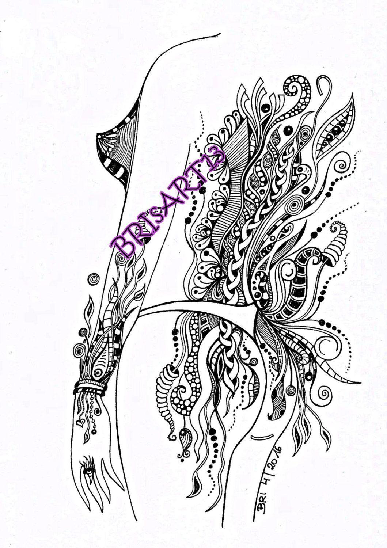 downloads zentangles  adult coloring doodleszia made