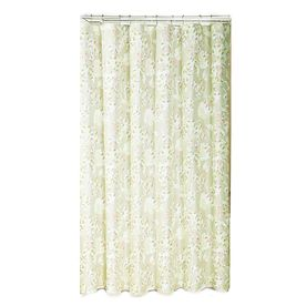 Metro Luxe Polyester Light Multi Floral Shower Curtain Sc7462 6201