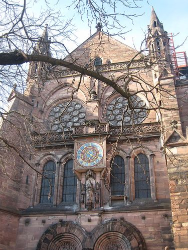 Cathédrale Notre Dame de Strasbourg Alsace Bas Rhin France