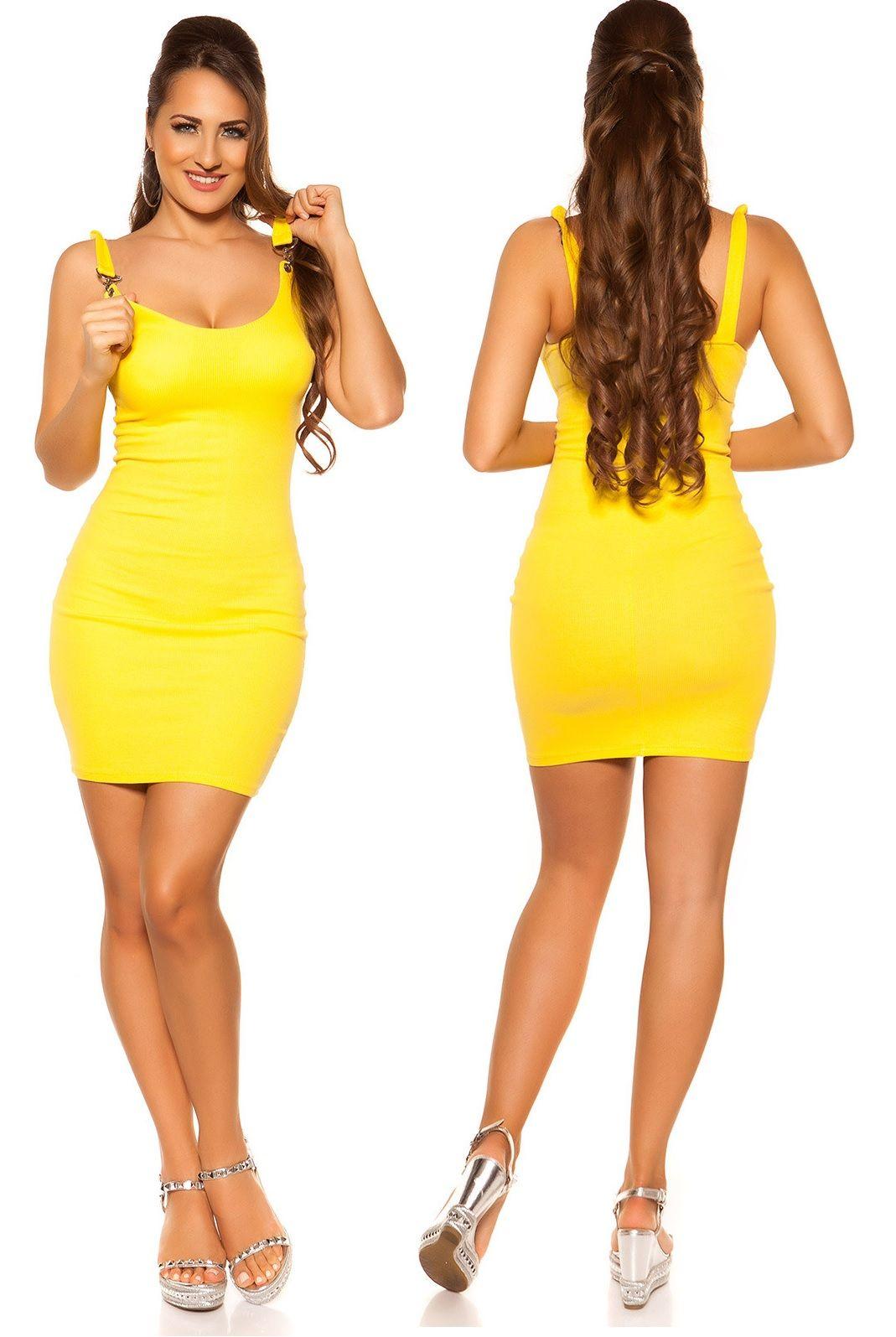 074d979372 Ujjatlan nyári miniruha 6 színben | Kötött ruha, miniruha, vastag, téli,  őszi | Dresses, Fashion, Bodycon Dress