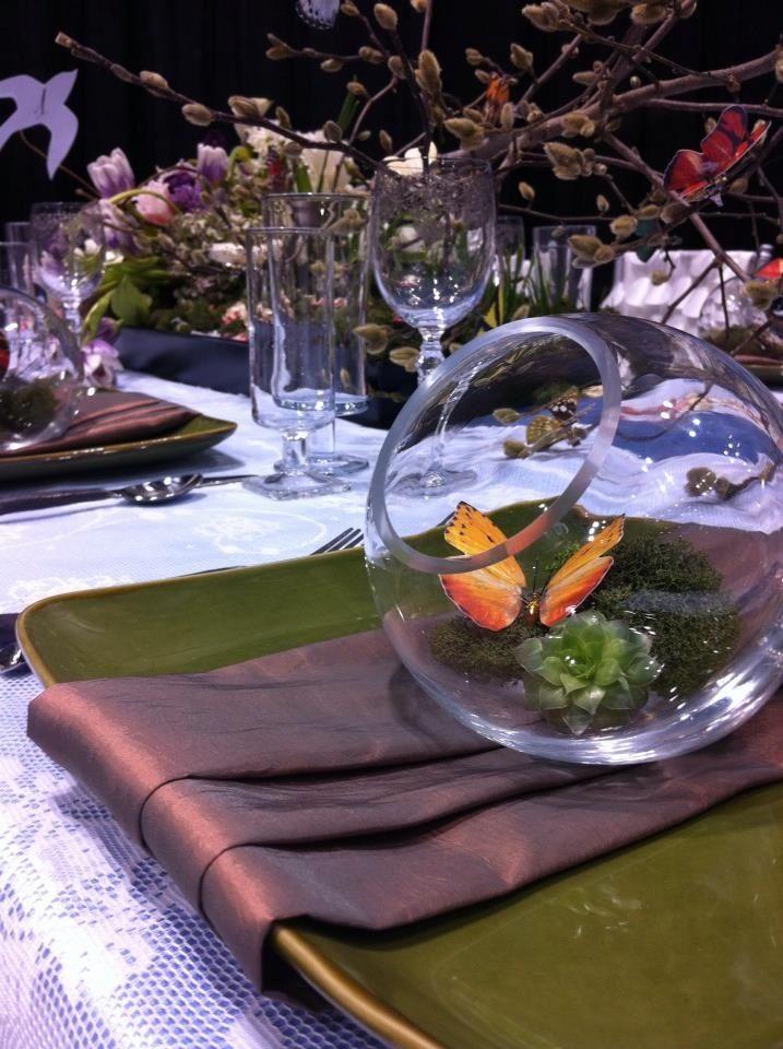 Garden party theme decoraci n decoraciones de mesa - Decoracion primer cumpleanos ...
