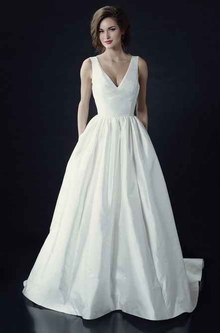 Heidi Elnora Vivienne Beau Dress Price On Request 36 Elegant Minimalist Wedding Dresses