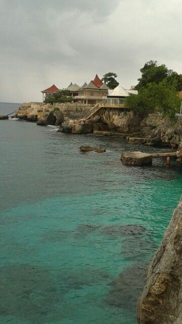 Cliff side hotels Negril Jamaica