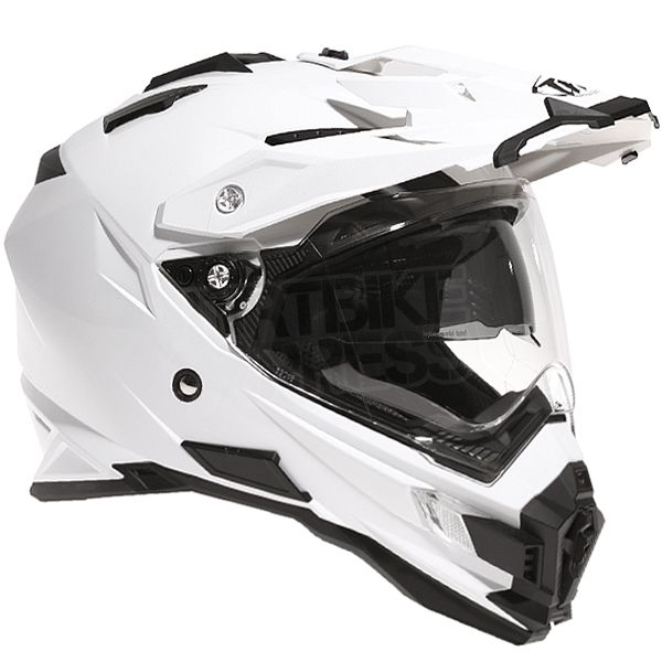 2ad35af2 THH TX-27 Dual Sport Helmet Solid White Small 55-56 cms | Projects ...
