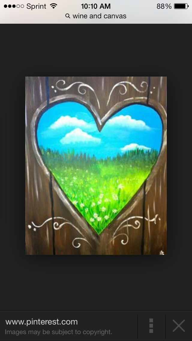 Pin By Lauren Martink On Things I Want To Paint Easy For Me Wine And Canvas Night Painting Art Painting