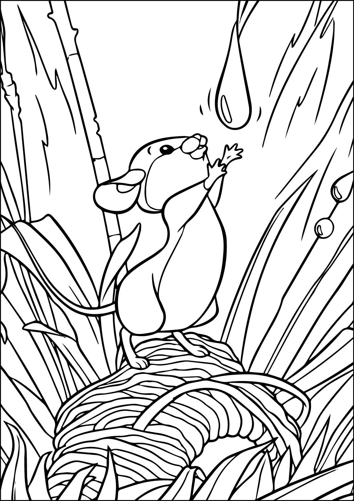 Bambi2 Coloring Pages dr seuss horton books coloring pages