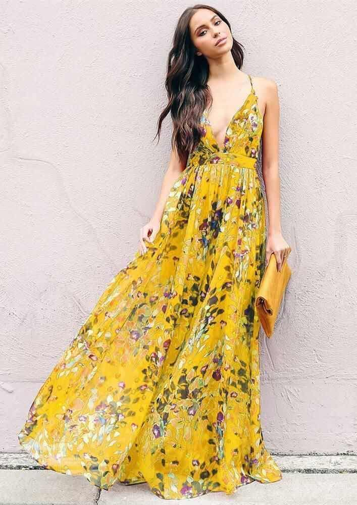 Vestidos Largos De Moda Inspiración Tendencias Y Estilos 2018 Maxi Dress Backless Maxi Dresses Trendy Dresses Summer