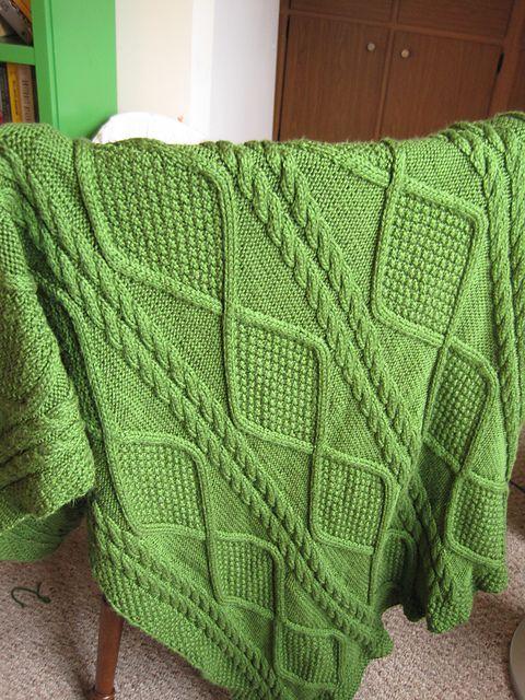 Ravelry: Alexi Throw pattern by Berroco Design Team | mantas para ...
