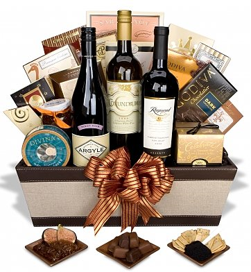 Wedding And Honeymoon Gift Baskets For The Bride And Groom Gourmet Gift Baskets Wine Gift Baskets Gift Baskets