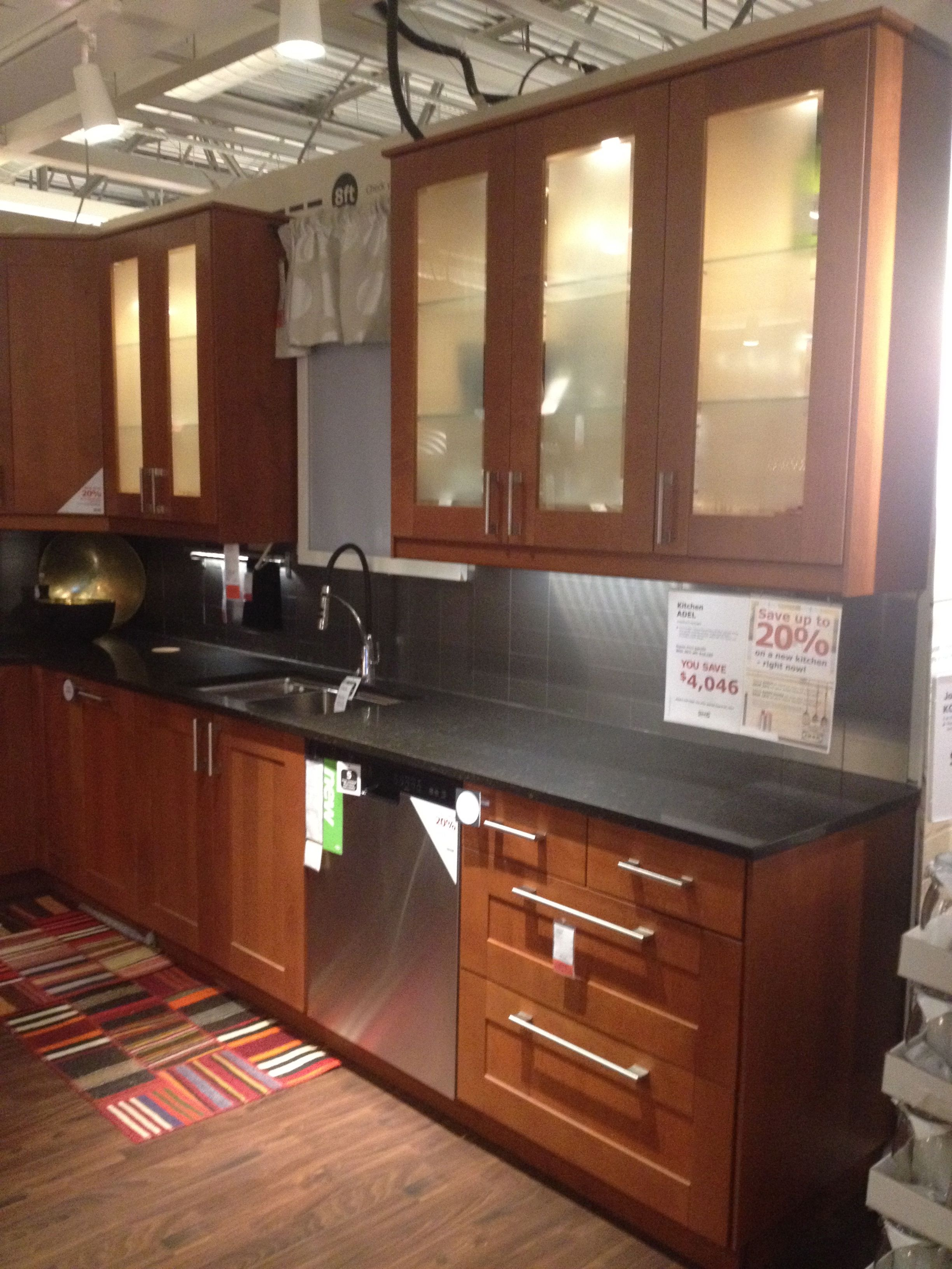 Ikea Red Wood Kitchen Cabinets Kitchen Cabinets Wood Kitchen Cabinets Kitchen