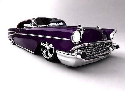 1957 Chevrolet Bel Air — Pure class. purple cars, purple trucks, purple SUV, pu…