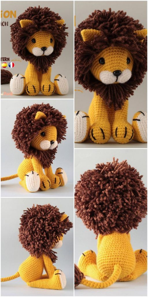 Free Amigurumi Doll And Animal Crochet Patterns - Amigurumi #crochetanimals