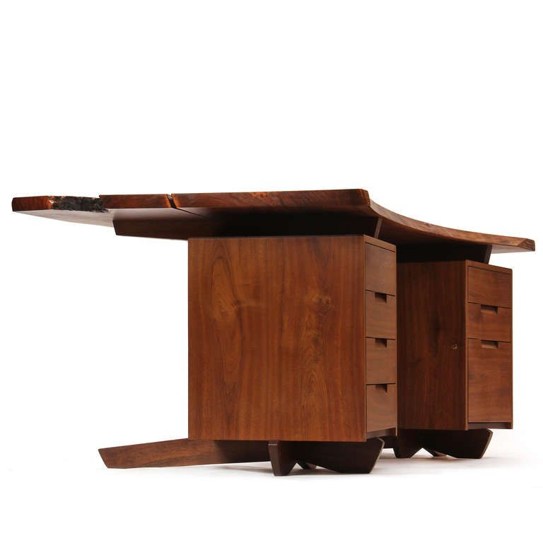 1stdibs Com Extraordinary Desk By George Nakashima George