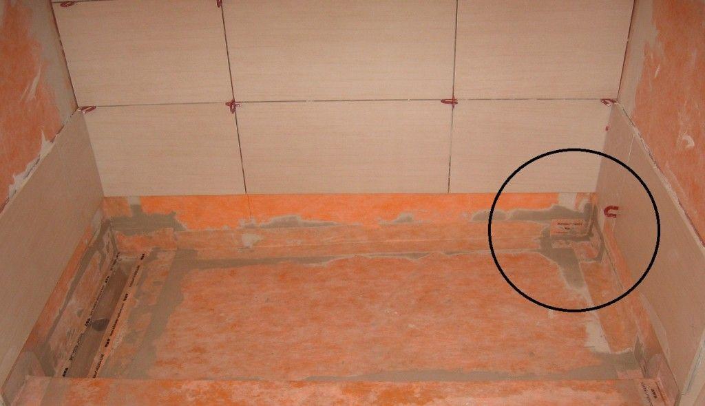 Shower Waterproofing Crash Course Shower Floor Shower Floor