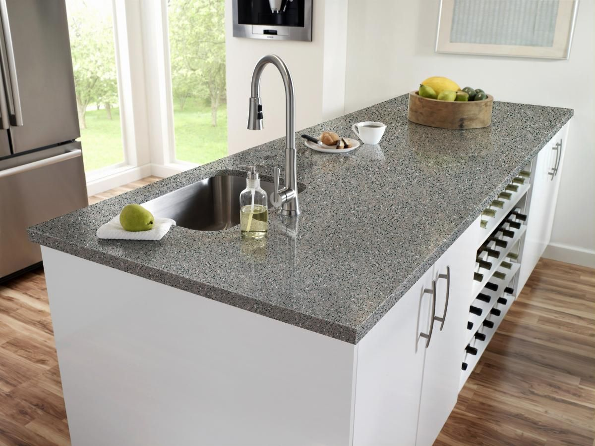 Quartz artificial stone is composed of approximately 93 for Manufactured quartz countertops cost