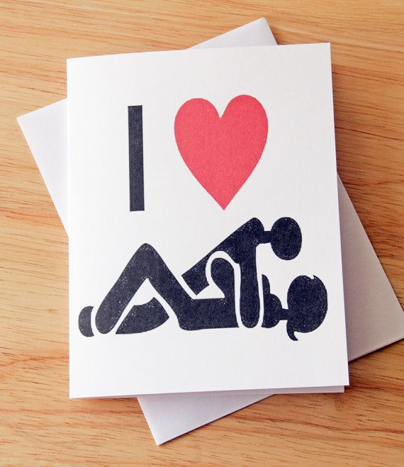 Greeting card bondage adult