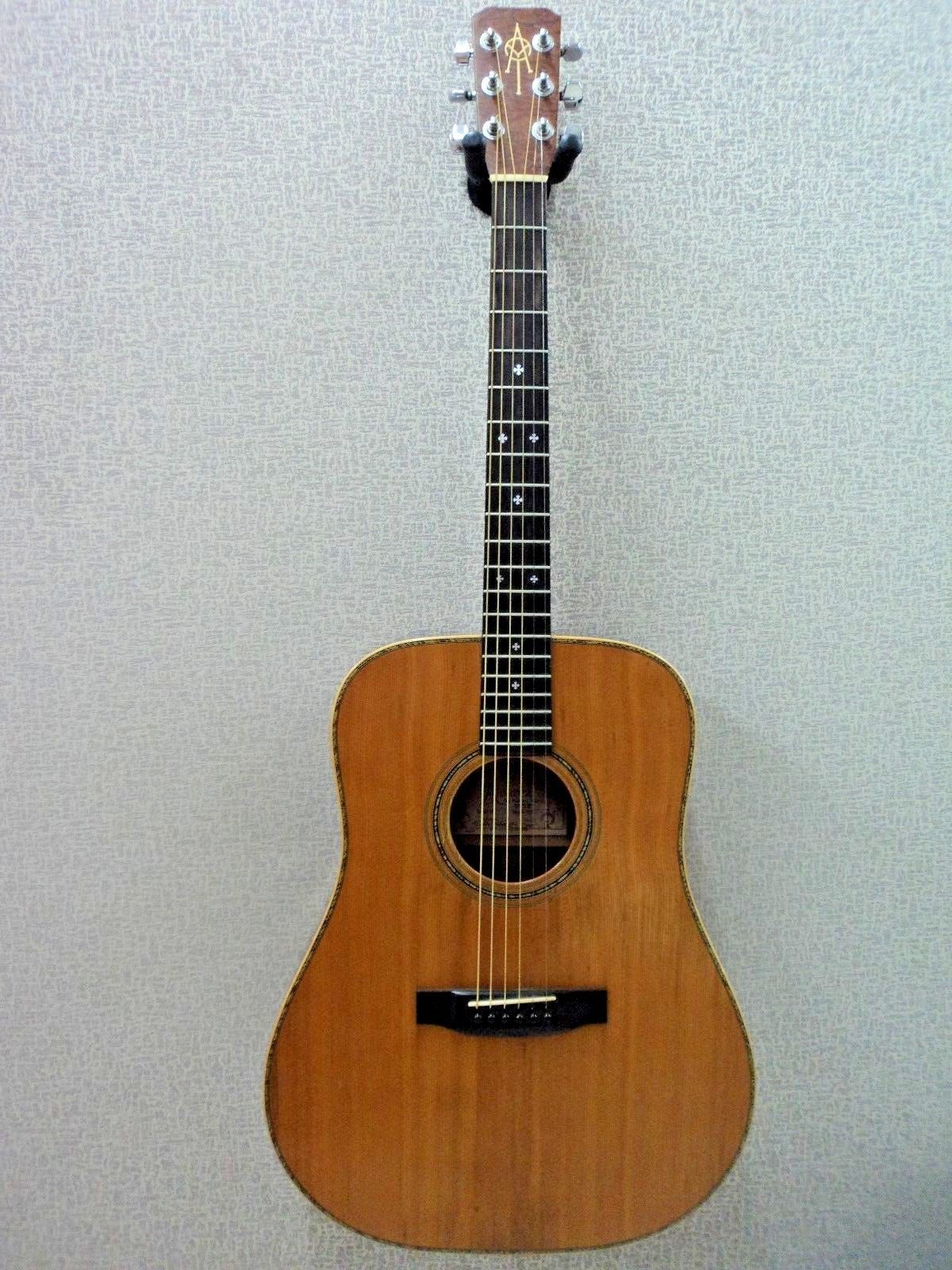 e4881676ef9 1981 Vintage Alvarez Yairi DY53 Hand Made Acoustic Guitar with Hardshell  case | eBay