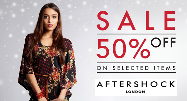 Get Up to 50% OFF on Selected Styles at Aftershock London. bit.ly/Clothes-Shop #fashion #discount #sale #clothing