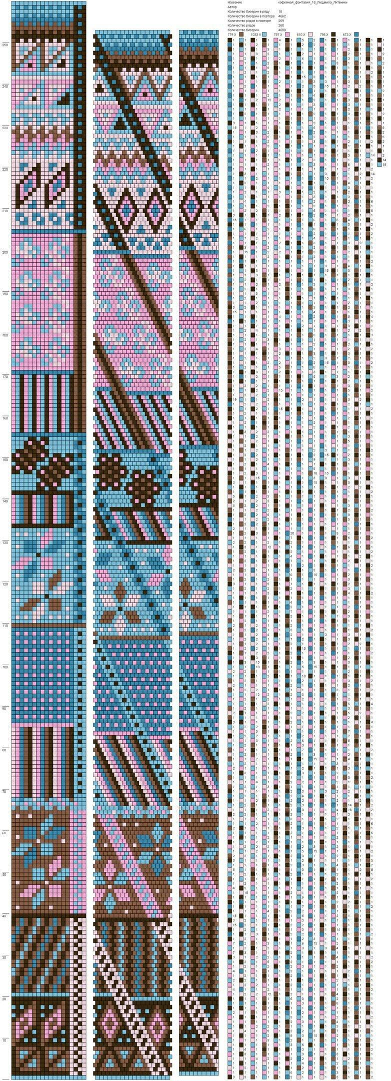 Pin von Ludmila Nefedova auf Beads | Pinterest | Perlenkette ...